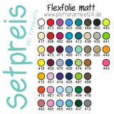 Flexfolie matt Set