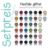 Flexfolie glitter Set