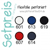 Flexfolie perforiert Set