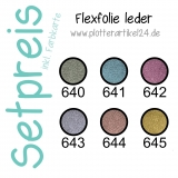 Flexfolie leder Set