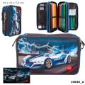 Monster Cars 3-fach Federtasche